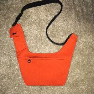 Nine West Red Black Sling - Crossbody Handbag
